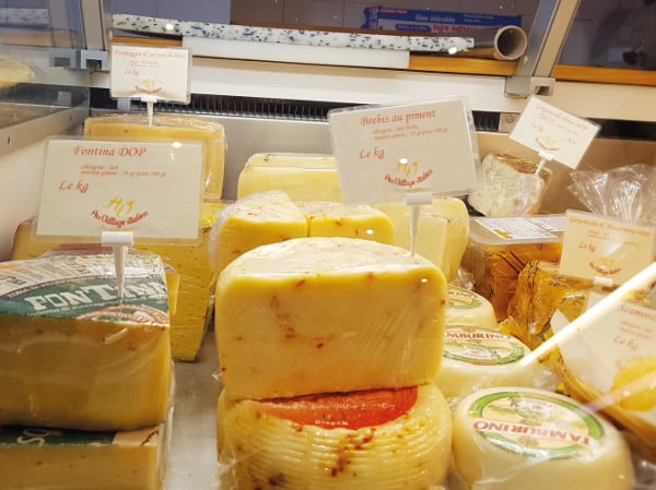 Fromage Au Village Italien